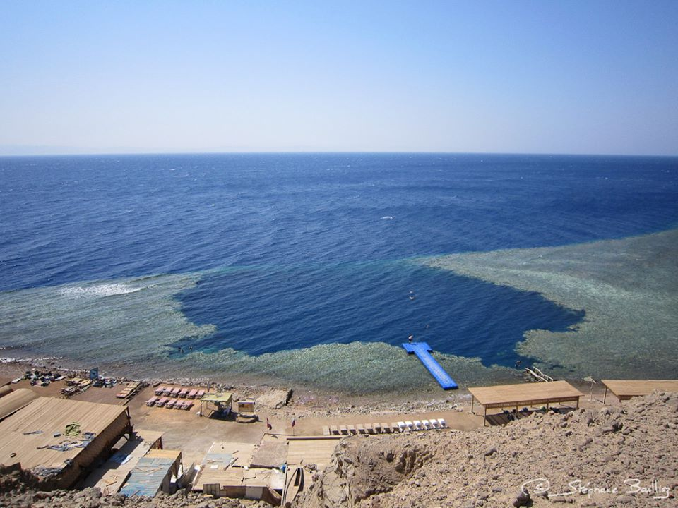 Diving the famous Blue Hole of Egypt